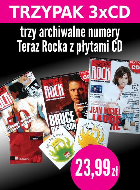 TRZYPAK 3xCD Teraz Rock Pakiet trzech numerów z płytami CD (1)