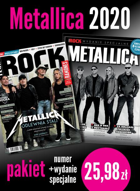Metallica 2020 Pakiet Teraz Rock + Wydanie Specjalne (1)