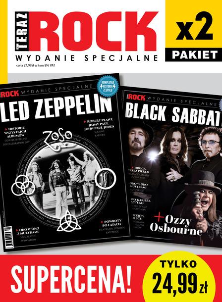 Led Zeppelin + Black Sabbath Pakiet 2x Wydanie Specjalne Teraz Rock (1)