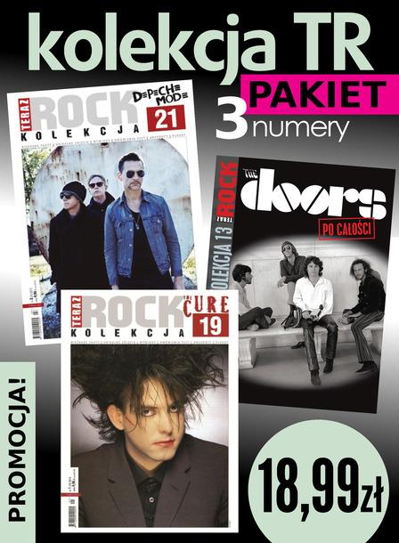 Depeche Mode + The Doors + The Cure 3x Teraz Rock Kolekcja (1)