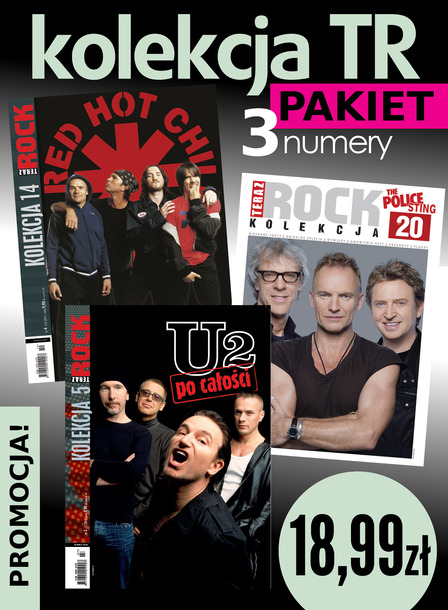 Red Hot Chili Peppers + The Police + U2 3x Teraz Rock Kolekcja (1)